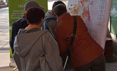 8 października 2020 Chorzów, akcja zbierania propozycji miejsc, w których mogą powstać zielone punkty
